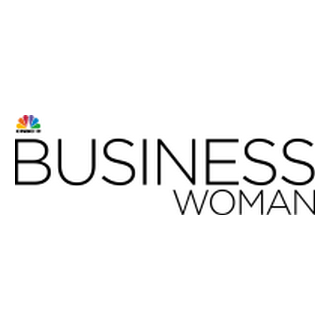 CNBC-e Business Woman Logo
