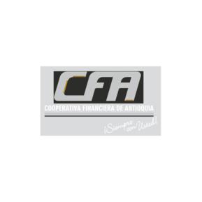 Cooperativa Financiera de Antioquia, CFA Logo