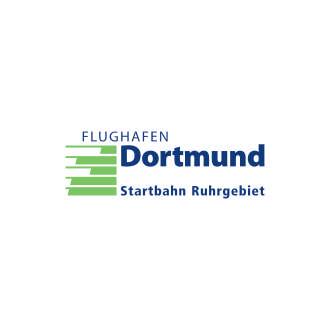 Flughafen Dortmund Logo