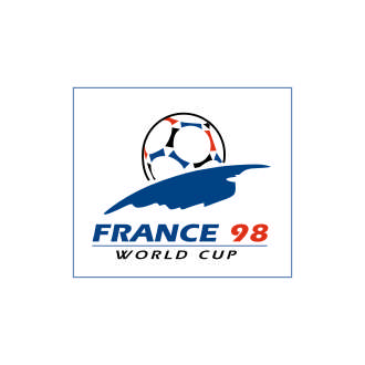 France98 world cup Logo