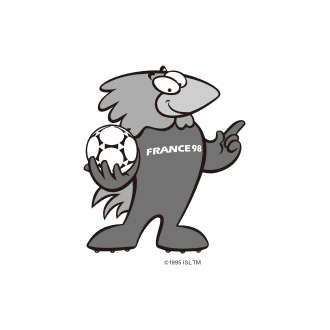 France 98 Soccer world cup Logo