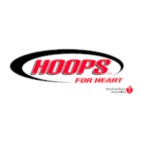 Hoops for Heart Logo