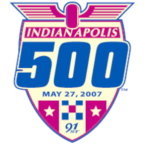 Indianapolis 500 May 27, 2007 Logo
