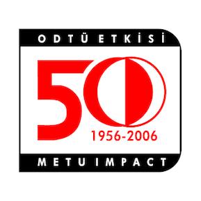 Odtu 50 yil Logo