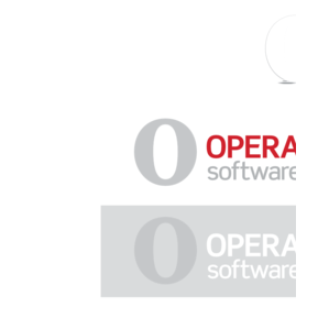 Opera Softwrae (New Logo 2009) Logo