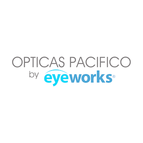 Opticas Pacifico – Eye works Logo