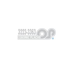 Osorio Placas Logo