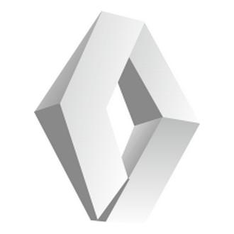 Renault 3d Logo