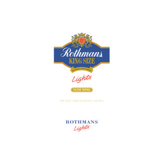 Rothmans King Size Light Logo