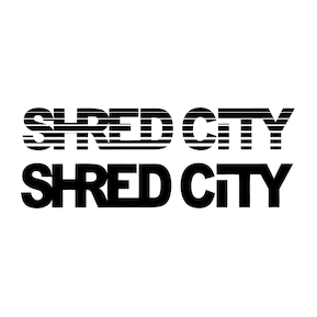 Shred City Logo