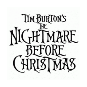 Tim Burton s The Nightmare Before Christmas Vector Logo