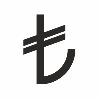 Symbol of Turkish Lira Logo