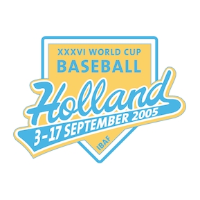 World Cup Baseball Holland 2005 Logo