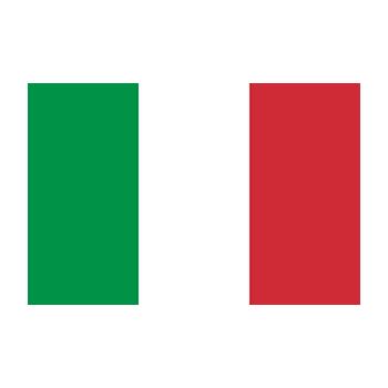İtalya Bayrağı Vektör