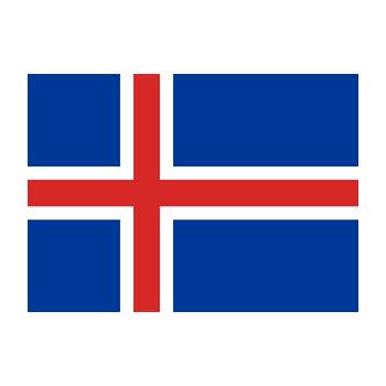 İzlanda Bayrağı Vektör