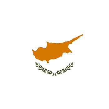 Kıbrıs Cumhuriyeti Bayrağı vector