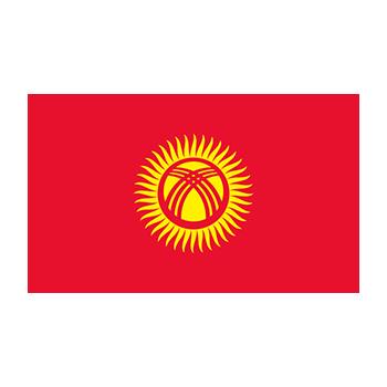 Kırgızistan Bayrağı Vector