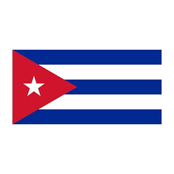 Küba Bayrağı Vector