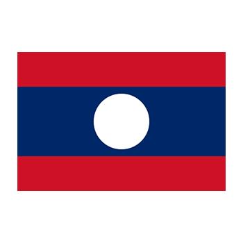 Laos Bayrağı Vektör