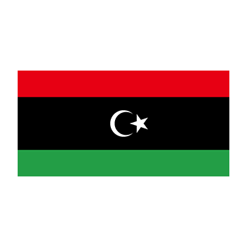 Libya Bayrağı Vektör