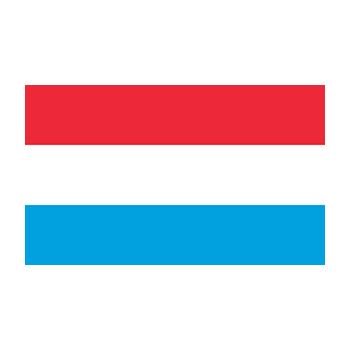Lüksemburg Bayrağı Vektör