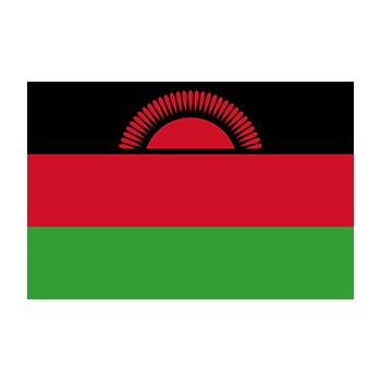 Malavi Bayrağı Vektör