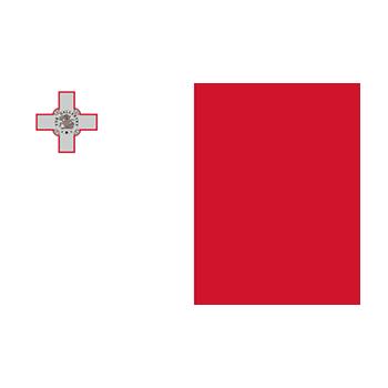 Malta Bayrağı Vektör