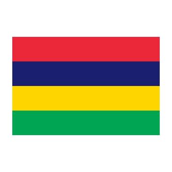 Mauritius Bayrağı Vektör