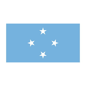 Flag of the Federated States of Micronesia Vector