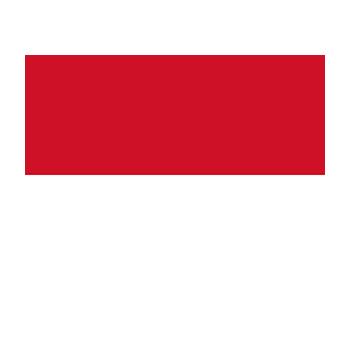Monako Bayrağı Vektör