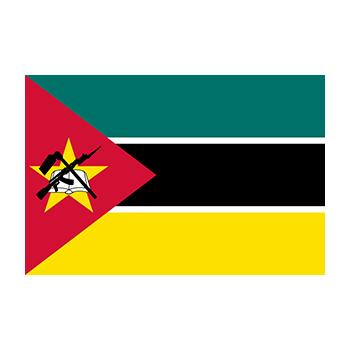Mozambik Bayrağı Vektör