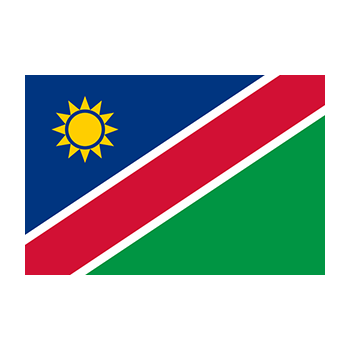 Namibya Bayrağı Vector