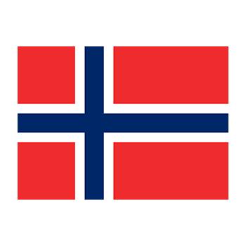 Norveç Bayrağı Vektör