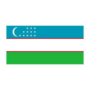 Özbekistan Bayrağı Vektör
