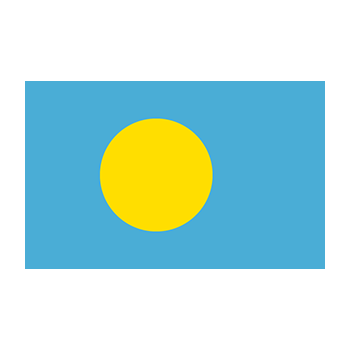 Flag of Palau Vector