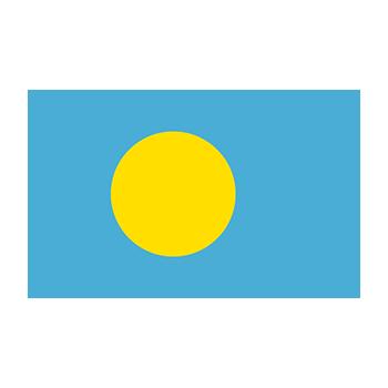 Palau Bayrağı Vector