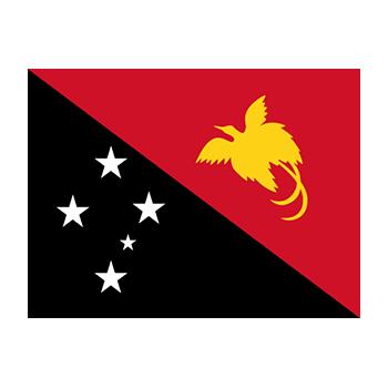Papua Yeni Gine Bayrağı Vektör