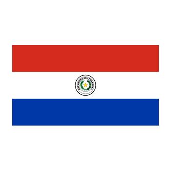 Paraguay Bayrağı Vektör
