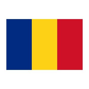 Romanya Bayrağı Vektör