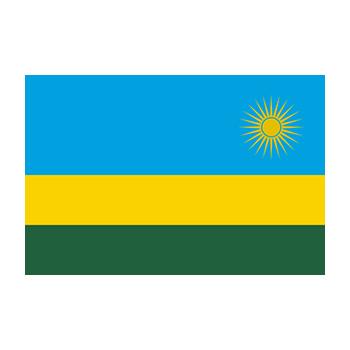 Ruanda Bayrağı Vector