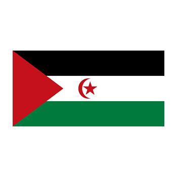 Sahra Demokratik Arap Cumhuriyeti Bayrağı Vector