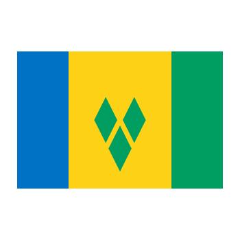 Saint Vincent ve Grenadinler Bayrağı Vector