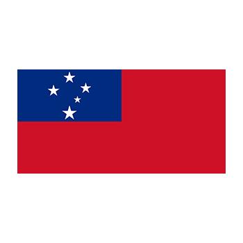 Samoa Bayrağı Vektör