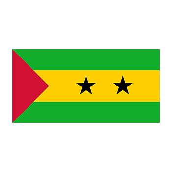 Flag of Sao Tome and Principe Vector