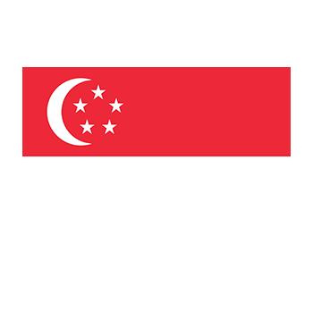 Singapur Bayrağı Vektör