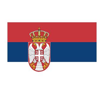 Sırbistan Bayrağı Vector