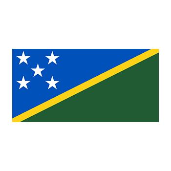 Solomon Adaları Bayrağı Vektör