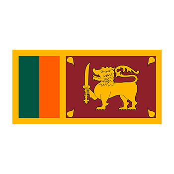 Flag of Sri Lanka Vector