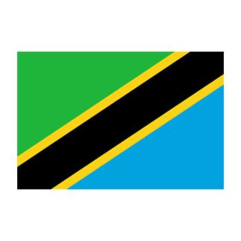 Tanzanya Bayrağı Vektör