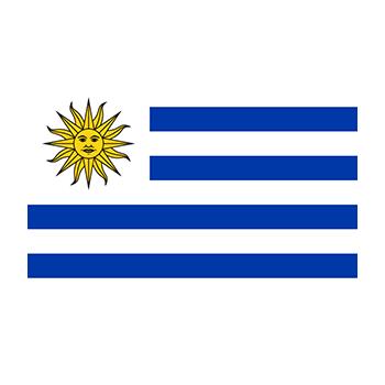 Uruguay Bayrağı Vektör